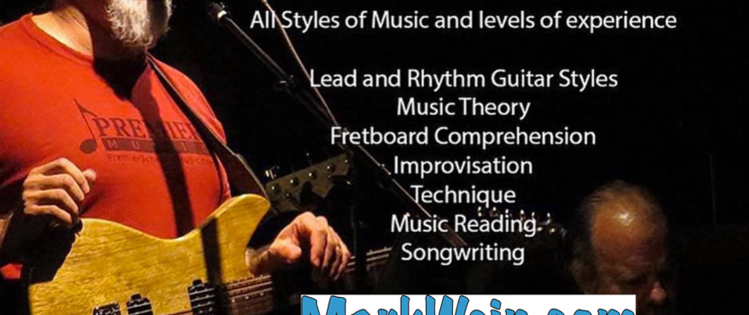 Skype Guitar Lessons Available! – Mark Wein